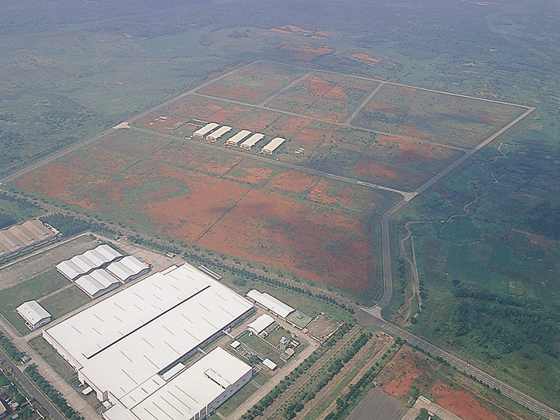 Industrial Land Aerial Land Kota Bukit Indah 2